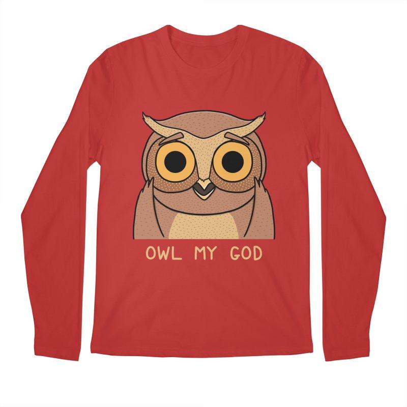 Owl My God Men's Longsleeve T-Shirt by bohsky's Artist Shop