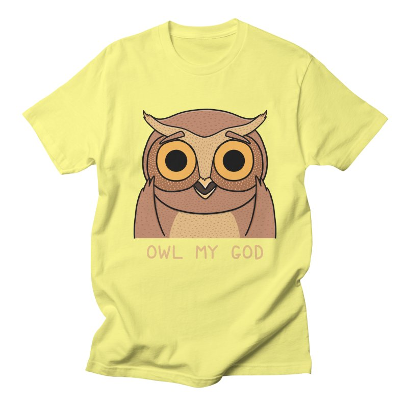 Owl My God Men's T-Shirt by bohsky's Artist Shop