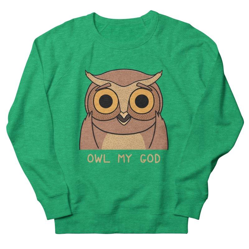 Owl My God Women's Sweatshirt by bohsky's Artist Shop