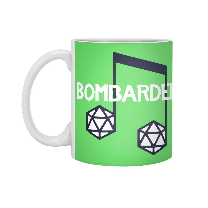 bomBARDed Logo w/Text Accessories Standard Mug by bomBARDed Merch!