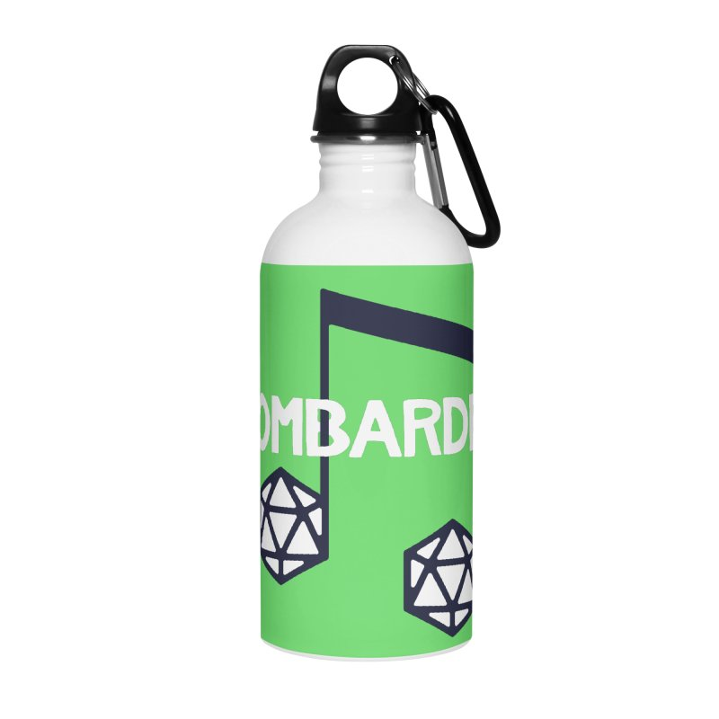 bomBARDed Logo w/Text Accessories Water Bottle by bomBARDed Merch!