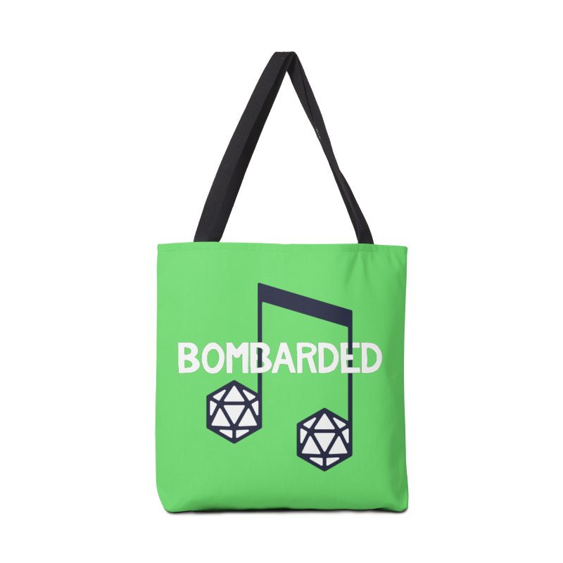 bomBARDed Logo w/Text Accessories Tote Bag Bag by bomBARDed Merch!