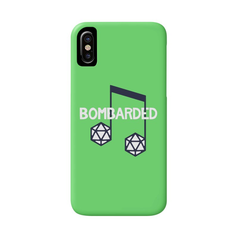 bomBARDed Logo w/Text Accessories Phone Case by bomBARDed Merch!