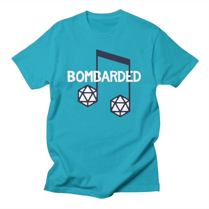 bomBARDed Logo w/Text Men's T-Shirt by bomBARDed Merch!