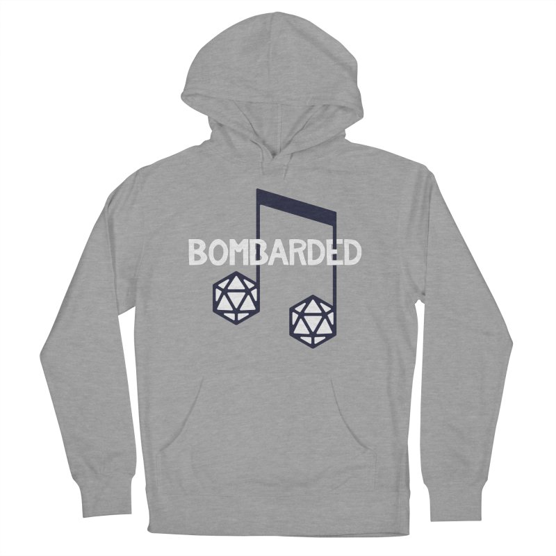 bomBARDed Logo w/Text Women's Pullover Hoody by bomBARDed Merch!