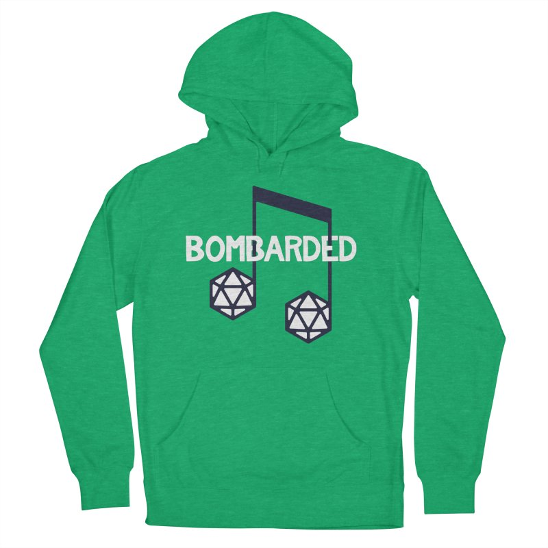 bomBARDed Logo w/Text Women's French Terry Pullover Hoody by bomBARDed Merch!