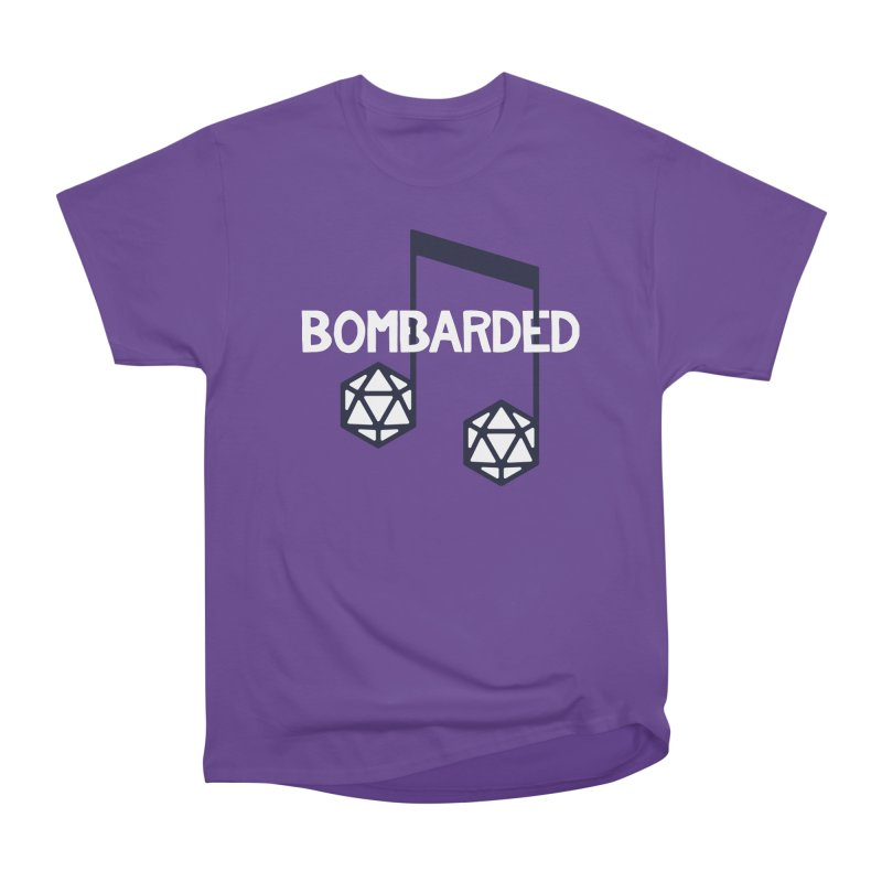 bomBARDed Logo w/Text Women's Heavyweight Unisex T-Shirt by bomBARDed Merch!