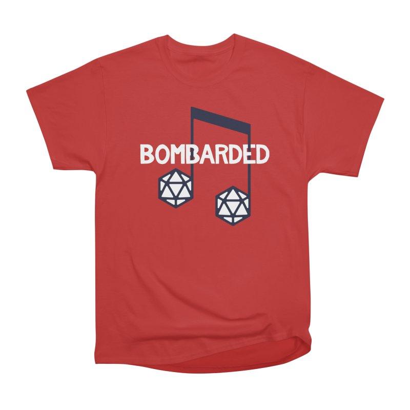 bomBARDed Logo w/Text Women's Heavyweight Unisex T-Shirt by bomBARDed Merch!
