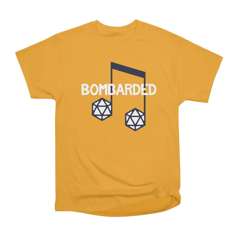bomBARDed Logo w/Text Men's Heavyweight T-Shirt by bomBARDed Merch!