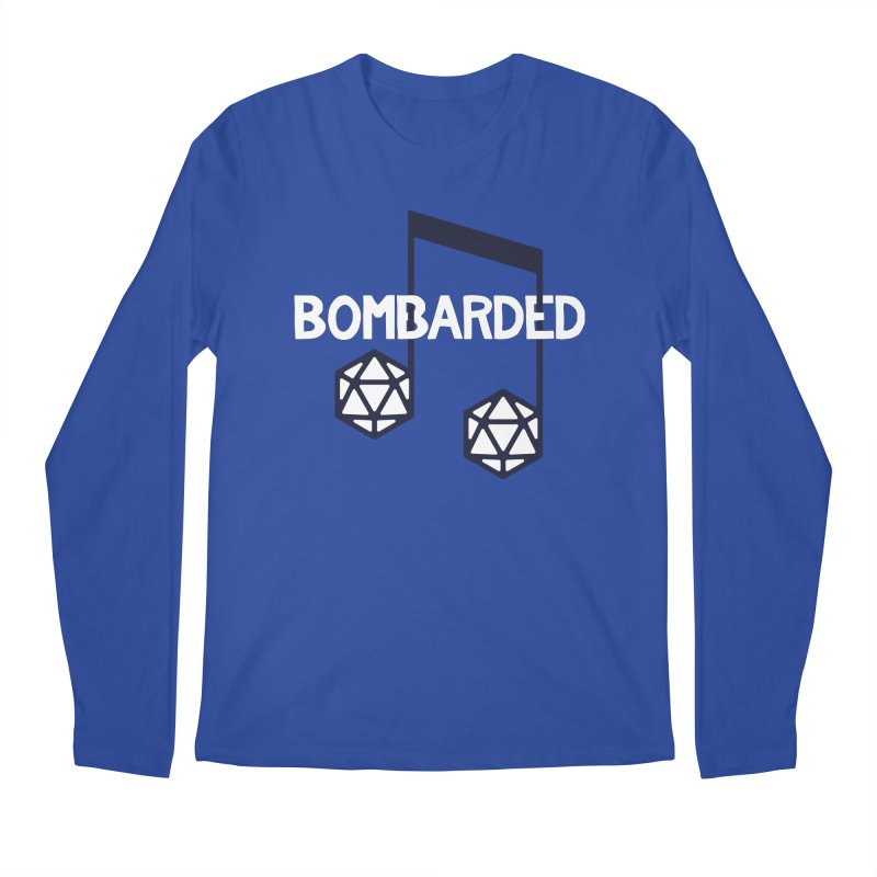 bomBARDed Logo w/Text Men's Regular Longsleeve T-Shirt by bomBARDed Merch!
