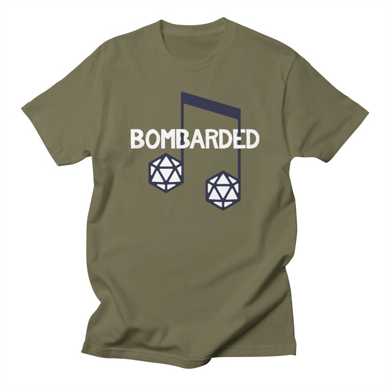 bomBARDed Logo w/Text Men's Regular T-Shirt by bomBARDed Merch!