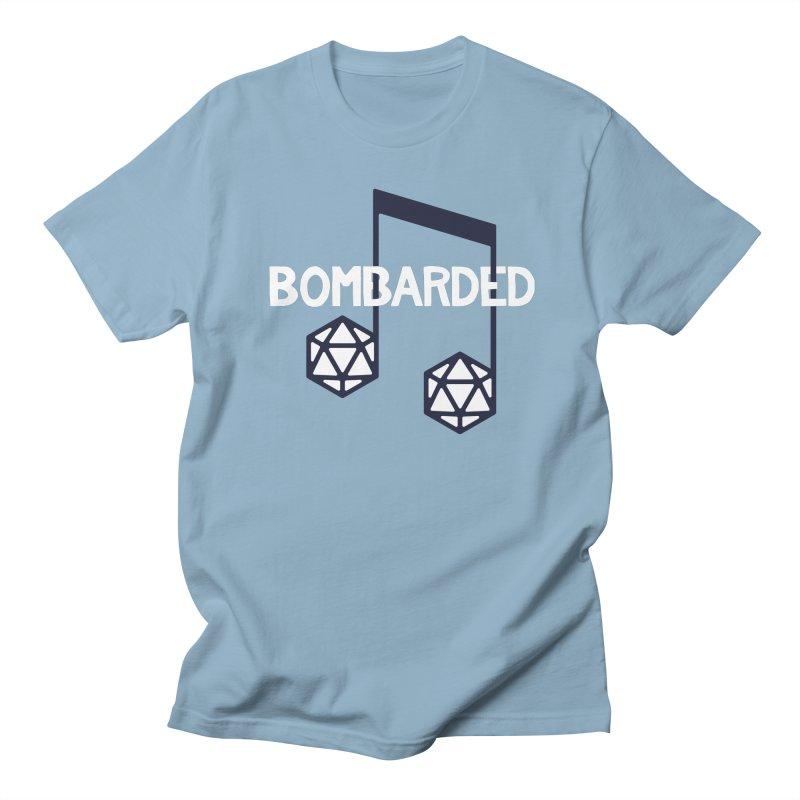bomBARDed Logo w/Text Women's Regular Unisex T-Shirt by bomBARDed Merch!