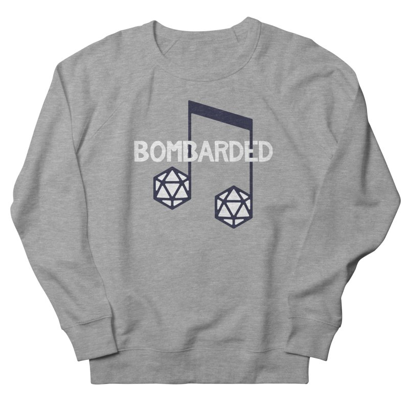 bomBARDed Logo w/Text Women's French Terry Sweatshirt by bomBARDed Merch!