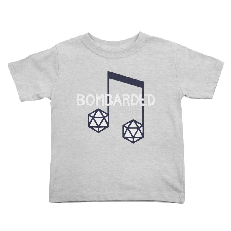 bomBARDed Logo w/Text Kids Toddler T-Shirt by bomBARDed Merch!