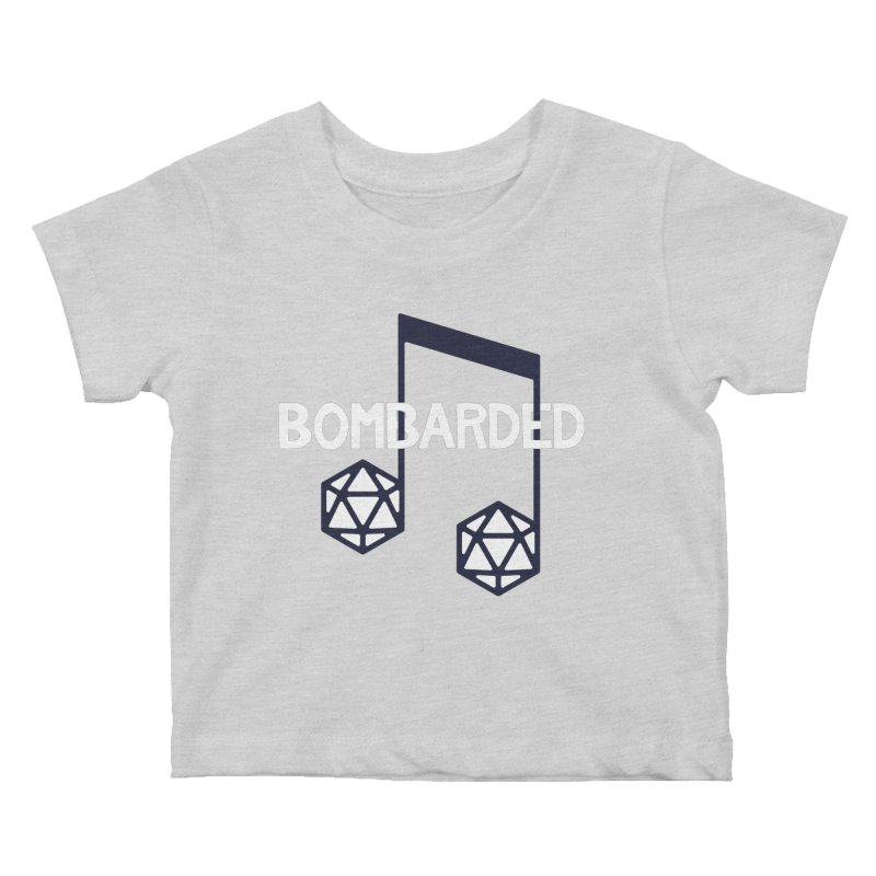 bomBARDed Logo w/Text Kids Baby T-Shirt by bomBARDed Merch!
