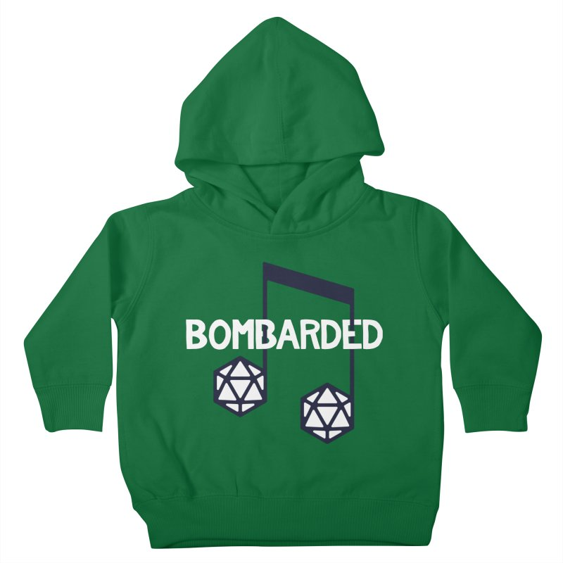 bomBARDed Logo w/Text Kids Toddler Pullover Hoody by bomBARDed Merch!