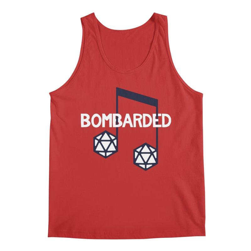 bomBARDed Logo w/Text Men's Regular Tank by bomBARDed Merch!