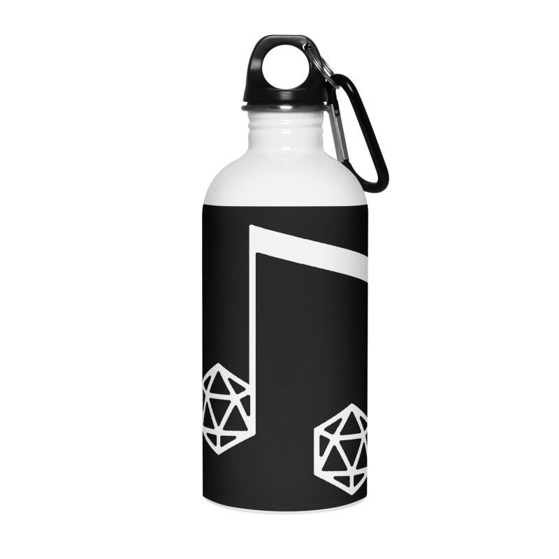 bomBARDed Logo White (no text) Accessories Water Bottle by bomBARDed Merch!