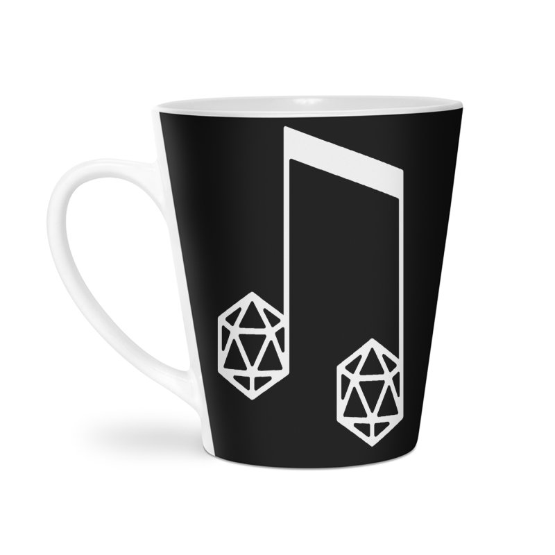 bomBARDed Logo White (no text) Accessories Mug by bomBARDed Merch!
