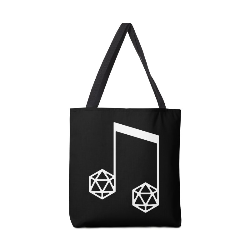 bomBARDed Logo White (no text) Accessories Tote Bag Bag by bomBARDed Merch!