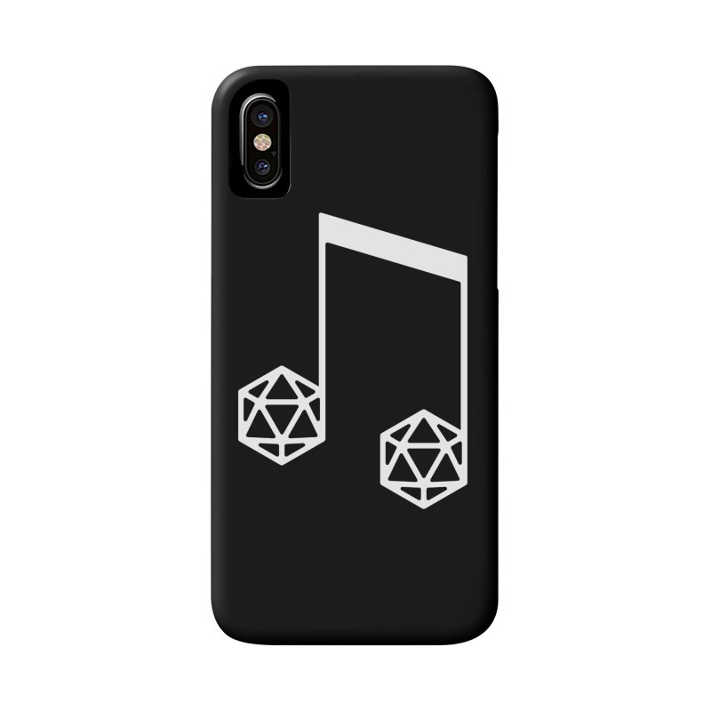 bomBARDed Logo White (no text) Accessories Phone Case by bomBARDed Merch!