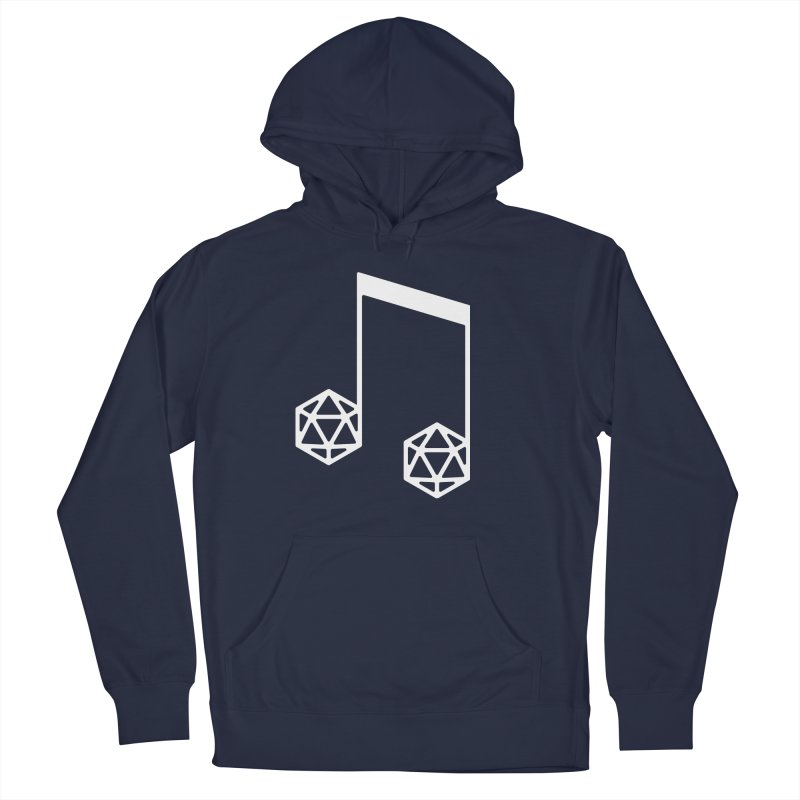 bomBARDed Logo White (no text) Men's Pullover Hoody by bomBARDed Merch!