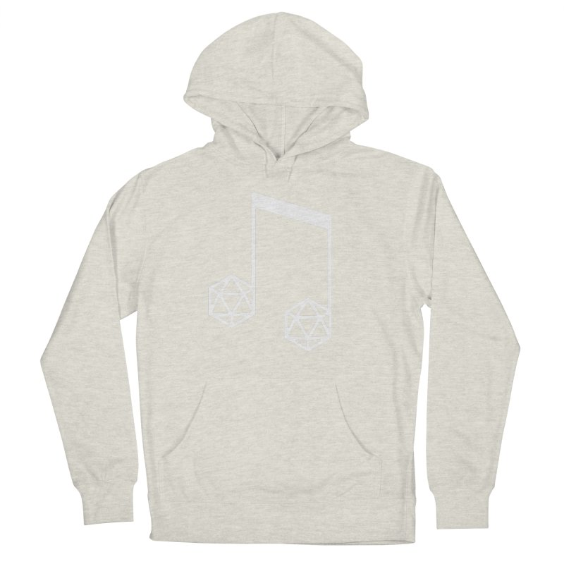 bomBARDed Logo White (no text) Women's French Terry Pullover Hoody by bomBARDed Merch!