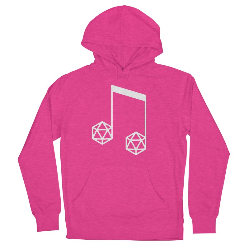 bomBARDed Logo White (no text) Men's French Terry Pullover Hoody by bomBARDed Merch!