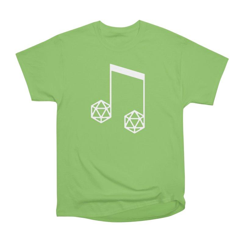 bomBARDed Logo White (no text) Men's Heavyweight T-Shirt by bomBARDed Merch!