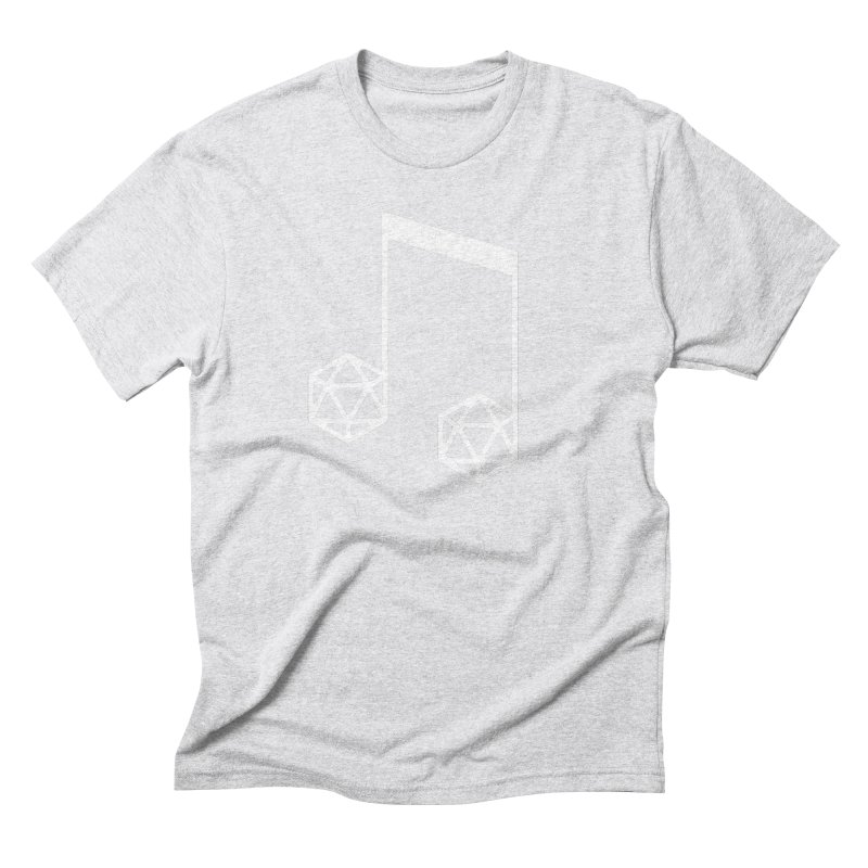 bomBARDed Logo White (no text) Men's Triblend T-Shirt by bomBARDed Merch!