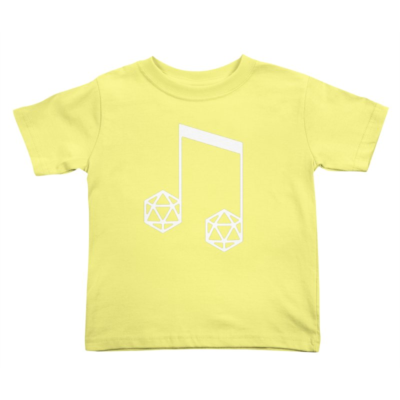 bomBARDed Logo White (no text) Kids Toddler T-Shirt by bomBARDed Merch!