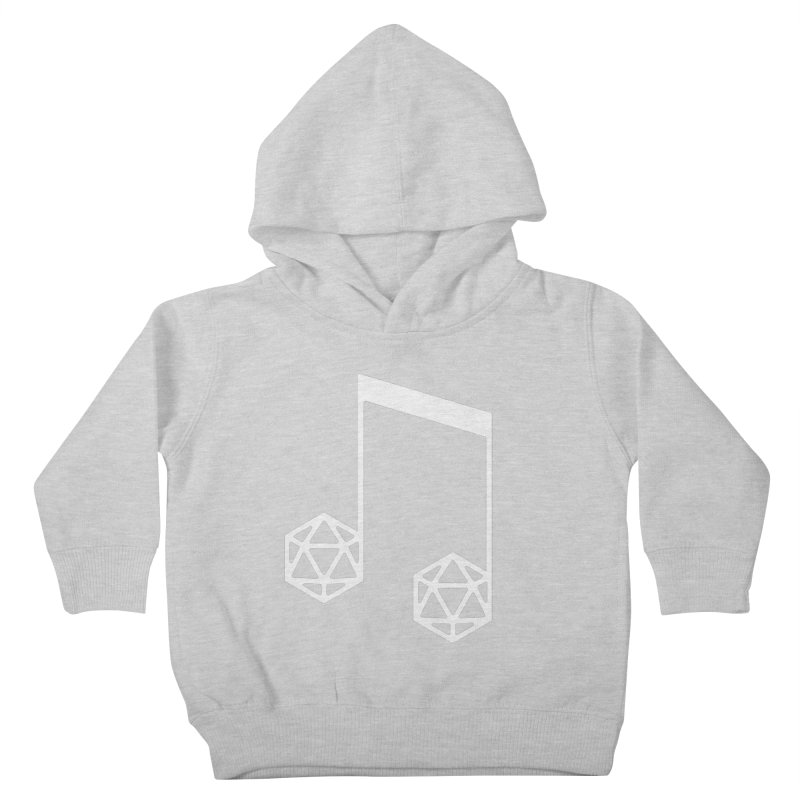 bomBARDed Logo White (no text) Kids Toddler Pullover Hoody by bomBARDed Merch!