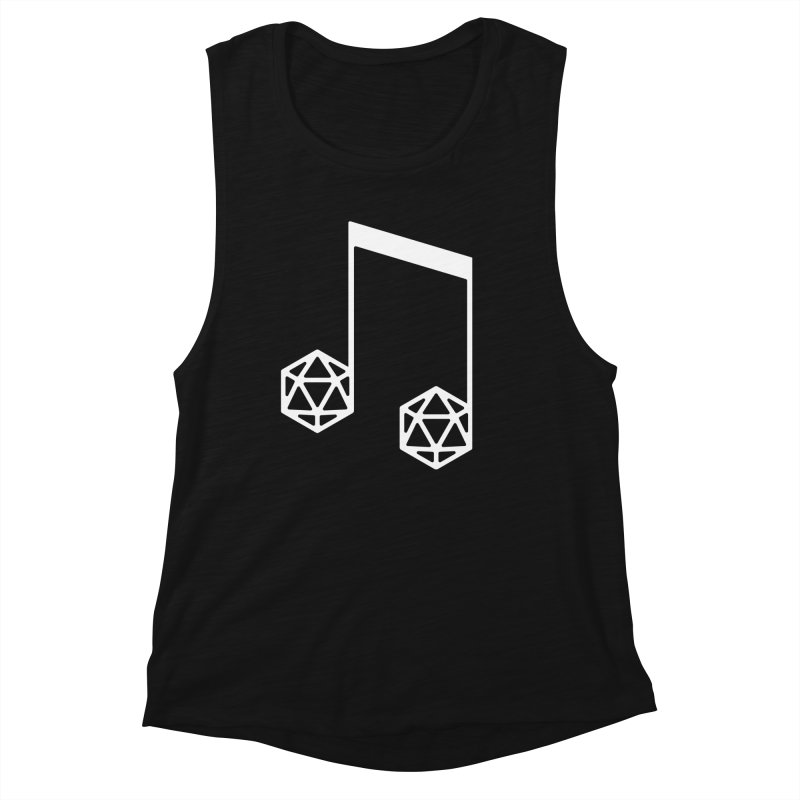 bomBARDed Logo White (no text) Women's Tank by bomBARDed Merch!
