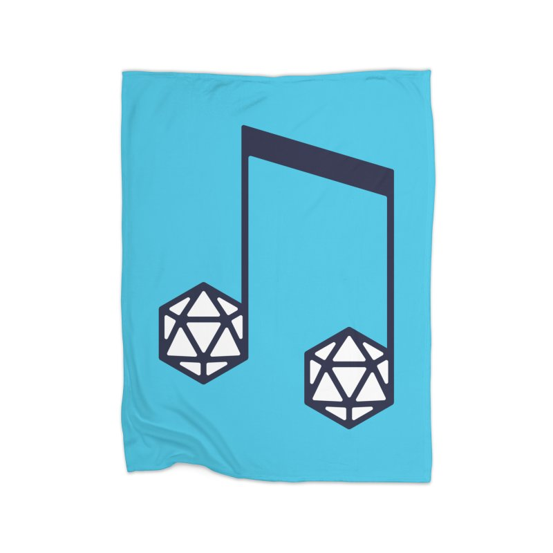 bomBARDed Logo (no text) Home Fleece Blanket Blanket by bomBARDed Merch!
