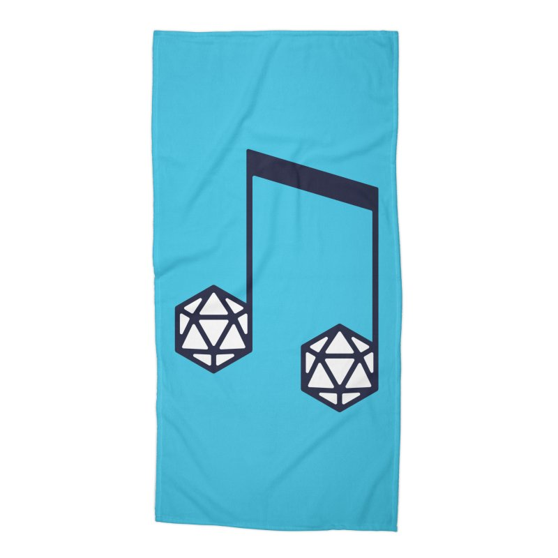bomBARDed Logo (no text) Accessories Beach Towel by bomBARDed Merch!