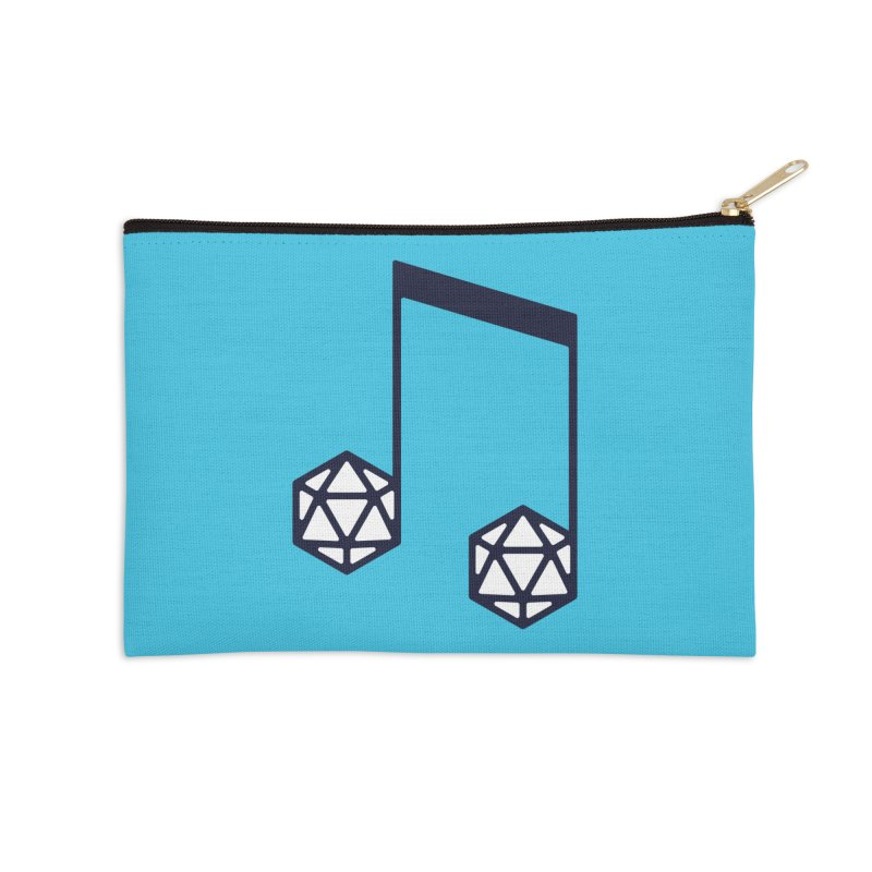 bomBARDed Logo (no text) Accessories Zip Pouch by bomBARDed Merch!