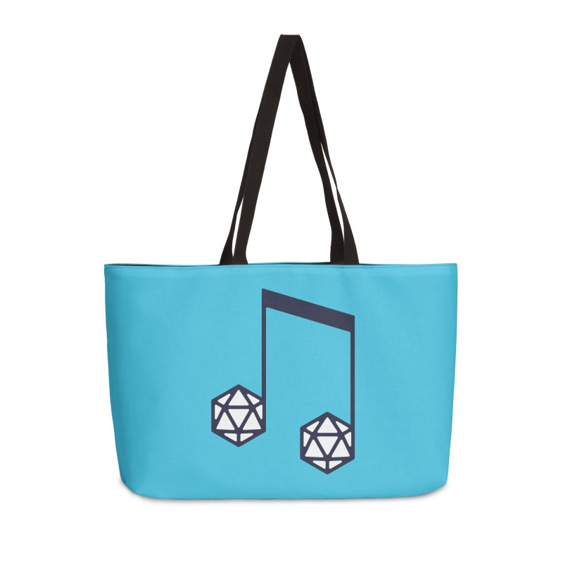 bomBARDed Logo (no text) Accessories Weekender Bag Bag by bomBARDed Merch!