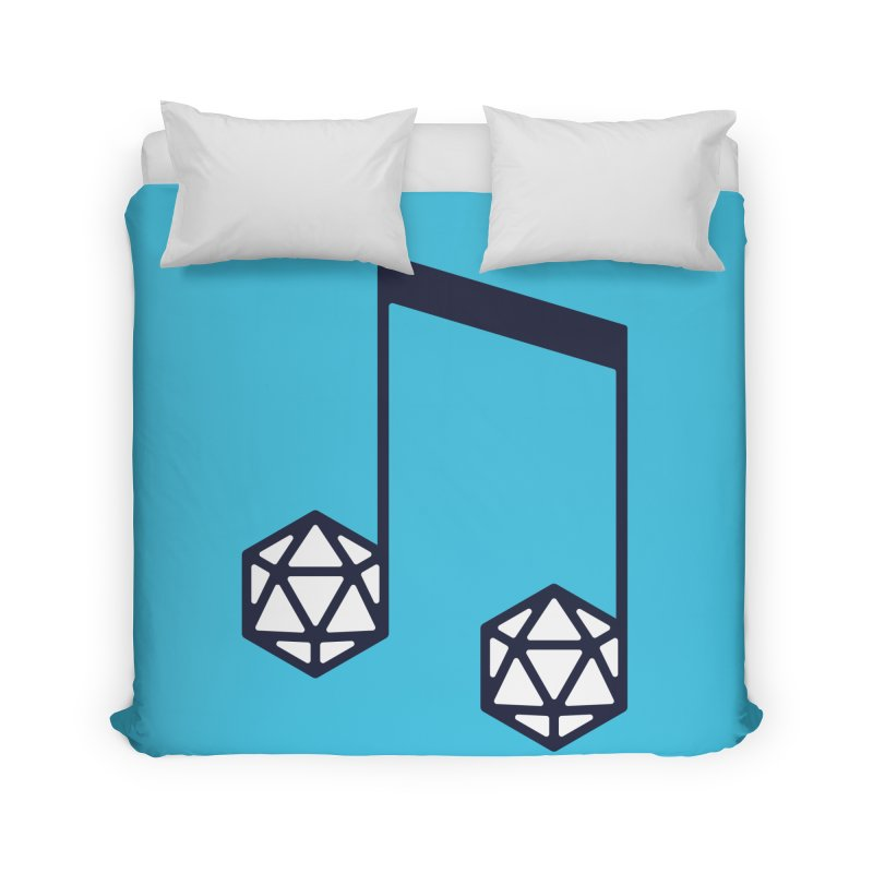 bomBARDed Logo (no text) Home Duvet by bomBARDed Merch!