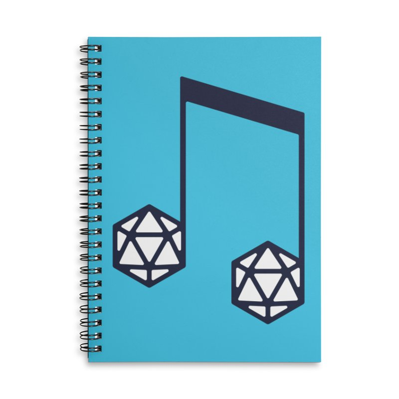 bomBARDed Logo (no text) Accessories Lined Spiral Notebook by bomBARDed Merch!
