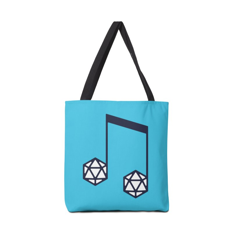 bomBARDed Logo (no text) Accessories Tote Bag Bag by bomBARDed Merch!