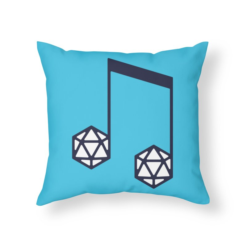 bomBARDed Logo (no text) Home Throw Pillow by bomBARDed Merch!