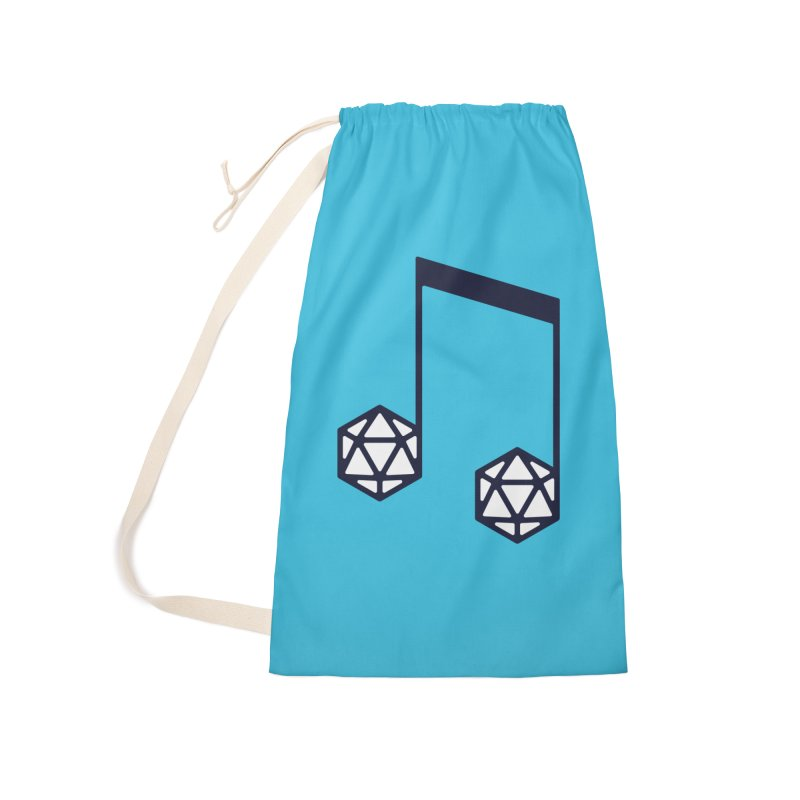 bomBARDed Logo (no text) Accessories Laundry Bag Bag by bomBARDed Merch!