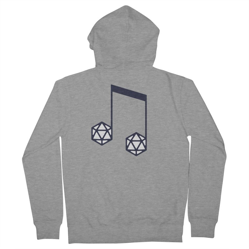 bomBARDed Logo (no text) Women's French Terry Zip-Up Hoody by bomBARDed Merch!