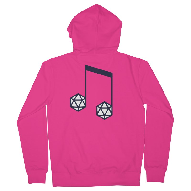 bomBARDed Logo (no text) Men's French Terry Zip-Up Hoody by bomBARDed Merch!
