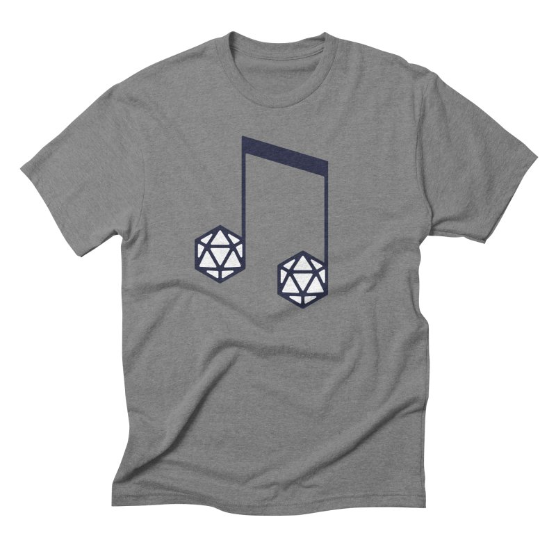 bomBARDed Logo (no text) Men's Triblend T-Shirt by bomBARDed Merch!