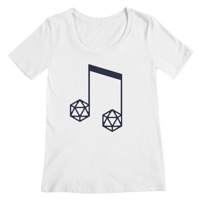 bomBARDed Logo (no text) Women's Regular Scoop Neck by bomBARDed Merch!