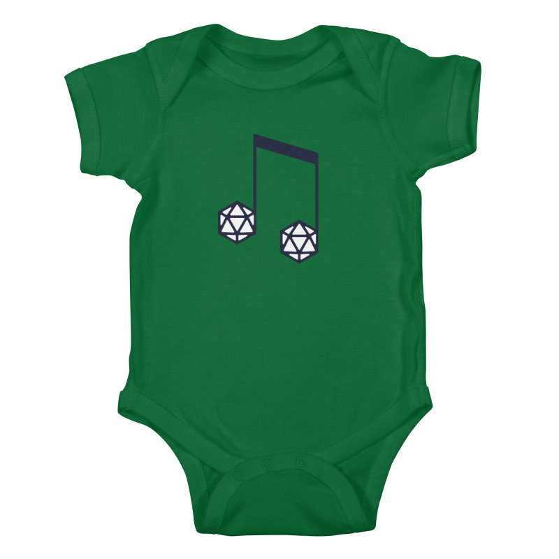 bomBARDed Logo (no text) Kids Baby Bodysuit by bomBARDed Merch!