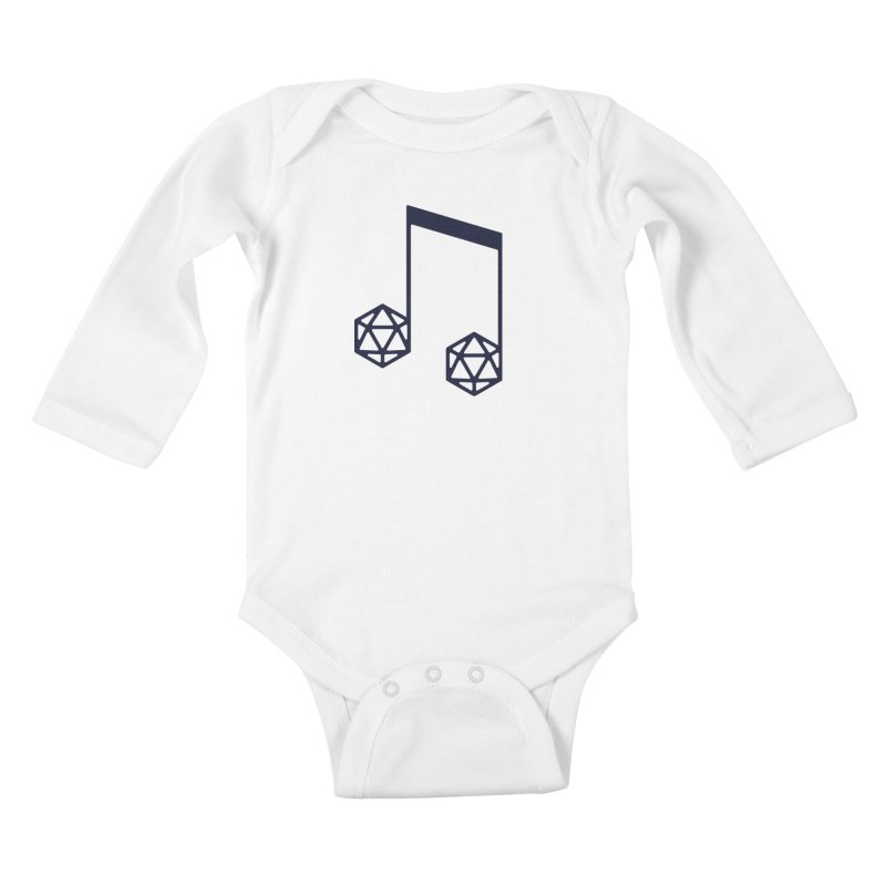 bomBARDed Logo (no text) Kids Baby Longsleeve Bodysuit by bomBARDed Merch!
