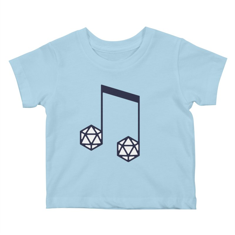 bomBARDed Logo (no text) Kids Baby T-Shirt by bomBARDed Merch!