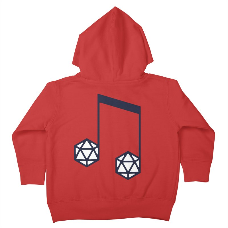 bomBARDed Logo (no text) Kids Toddler Zip-Up Hoody by bomBARDed Merch!